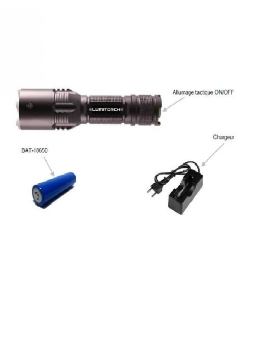 Lampe torche rechargeable LED CREE